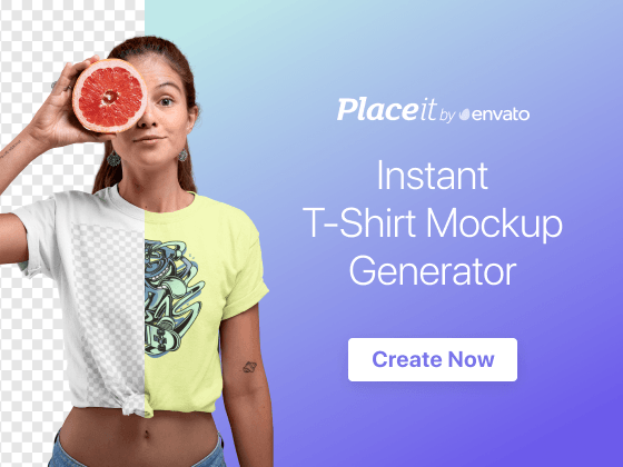 Instant mockup generator
