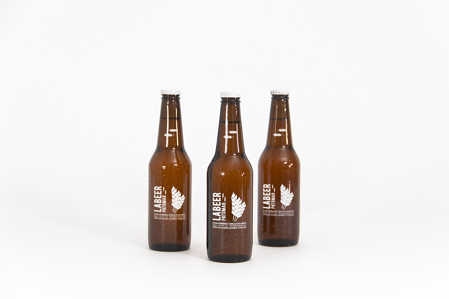 Beer Bottle Free PSD Mockup