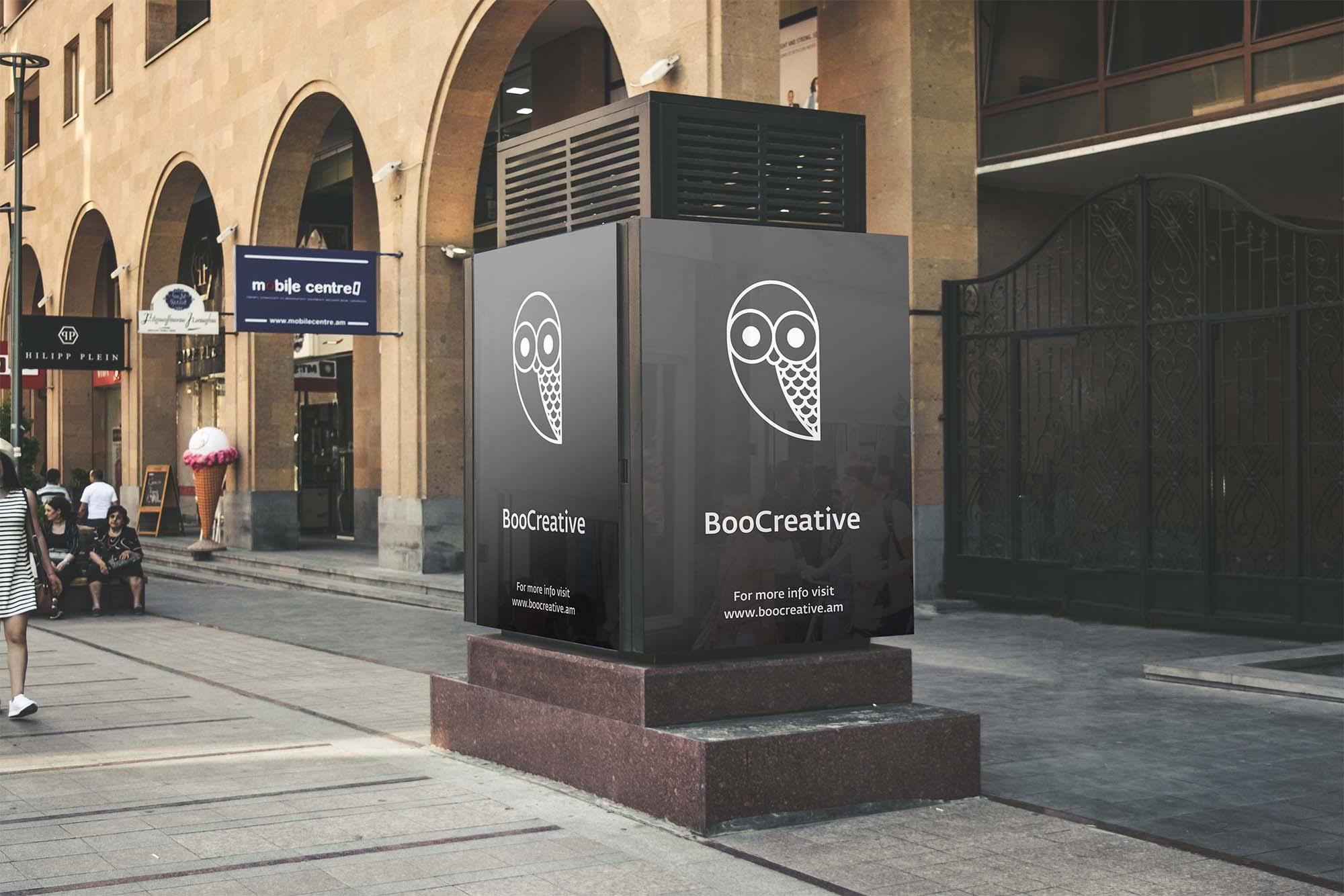 Boocreative Billboard Mockup PSD
