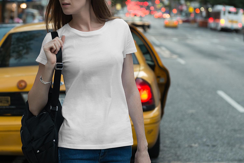 Male & Female T-Shirt Mockup
