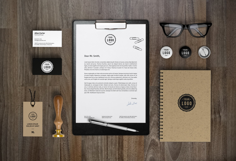 Branding Identity Mockup Vol.7
