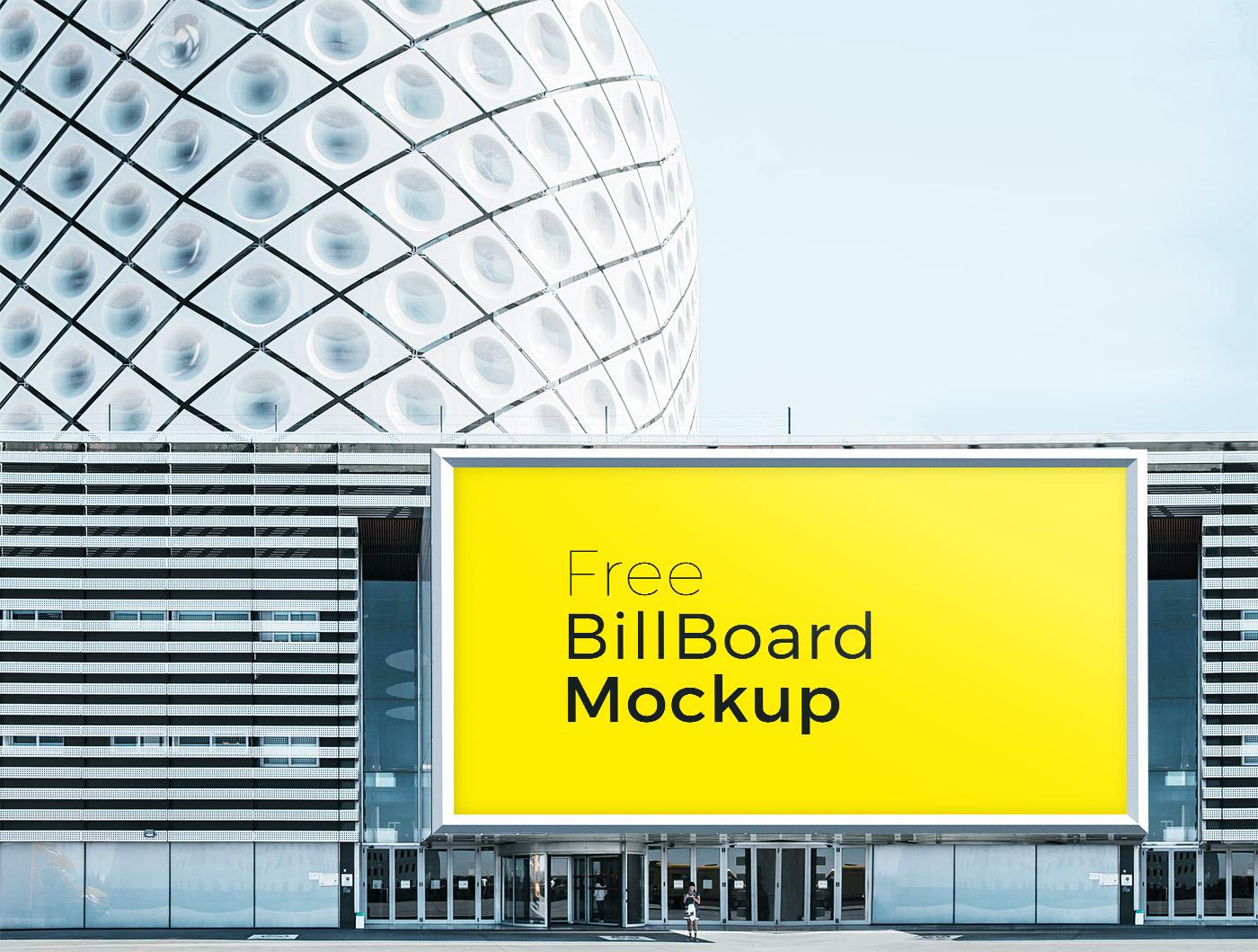 Free Poster Billboard Mockups