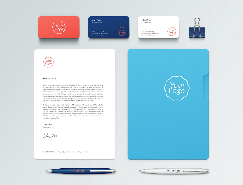 Branding Identity PSD Mockup