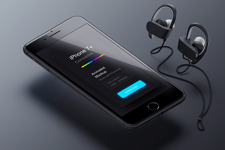 Animated PSD to GIF iPhone Mockups