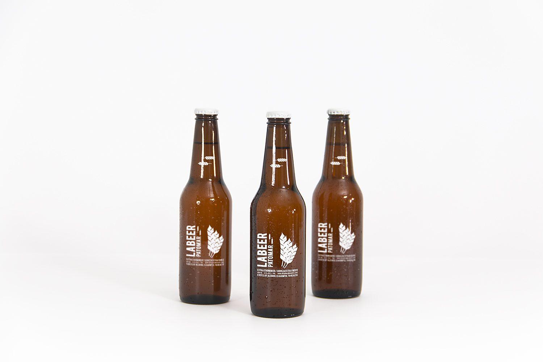 Beer Bottle Free PSD Mockup