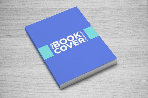 Book Cover Mockup PSD