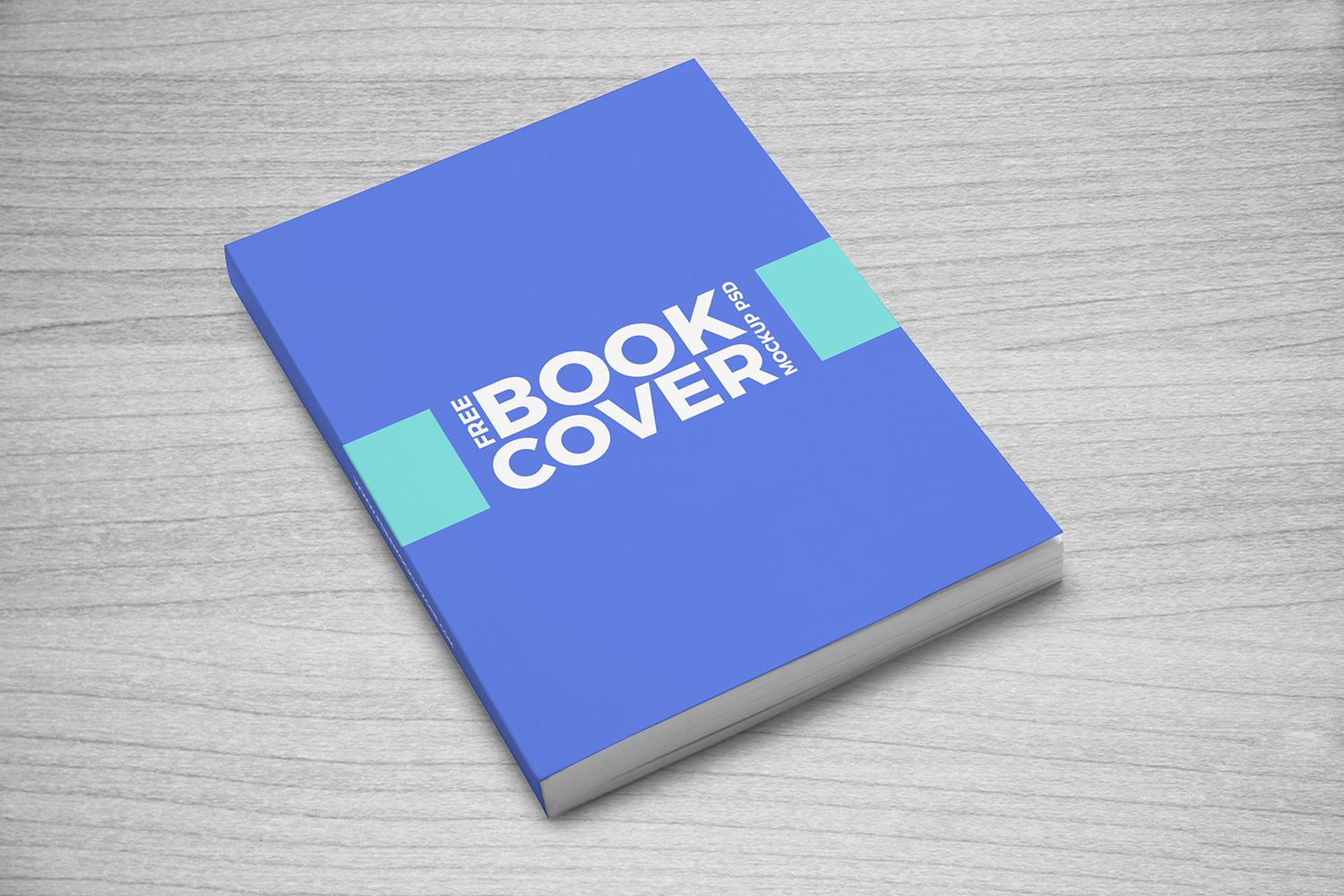 Book Cover Mockup PSD