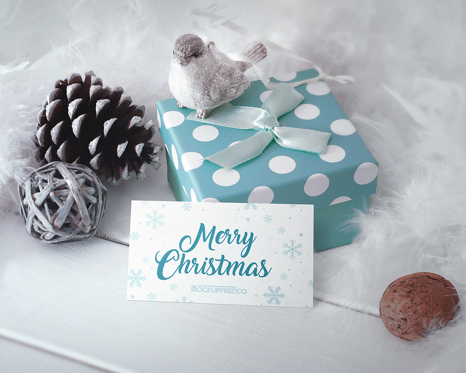 Christmas Mockup Package Free PSD
