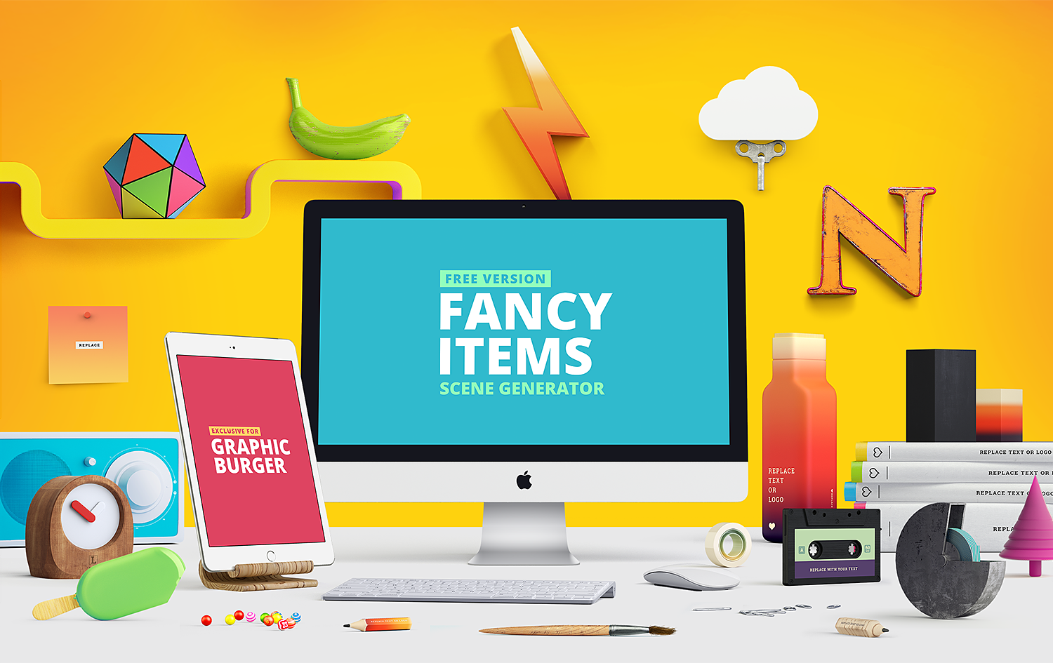 Fancy Items Scene Generator Free Demo