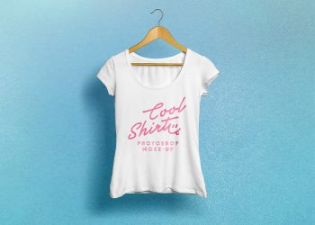 Female T-Shirt Photo Mockup