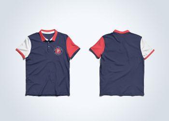 Free Polo Shirt PSD Mockup