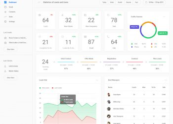 Freebie UI Dashboard