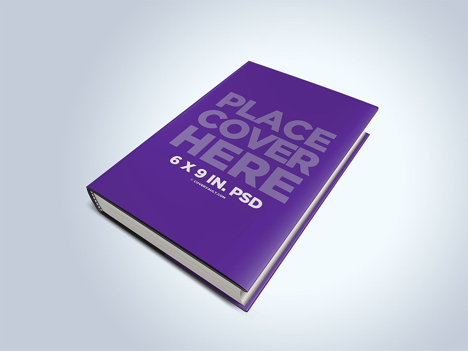 Hardcover Dust Jacket Mockup
