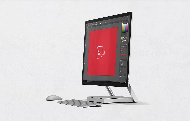 Microsoft Surface Studio Free Mockups