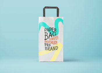 Paper Bag Mockup PSD