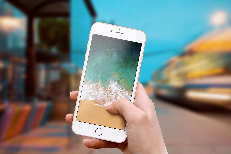 Set of Outdoor iPhone Mockups