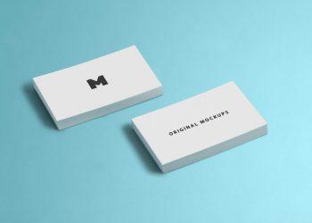 Business Card Free PSD Mockup