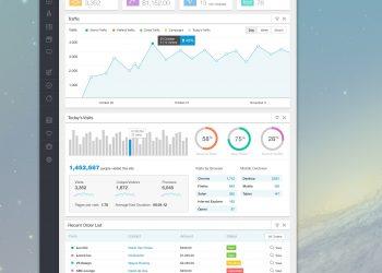 Free PSD Web Admin UI Kit