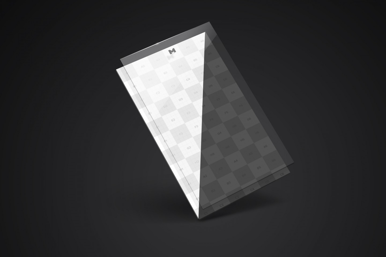 Perspective App Screen Mockup