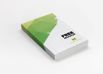 Softcover Trade Book PSD Mockup