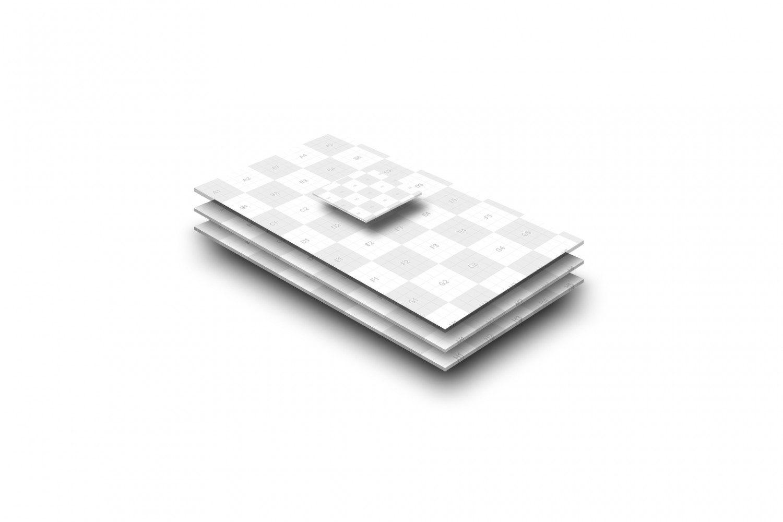 UI Design Free Mobile Display Mockup