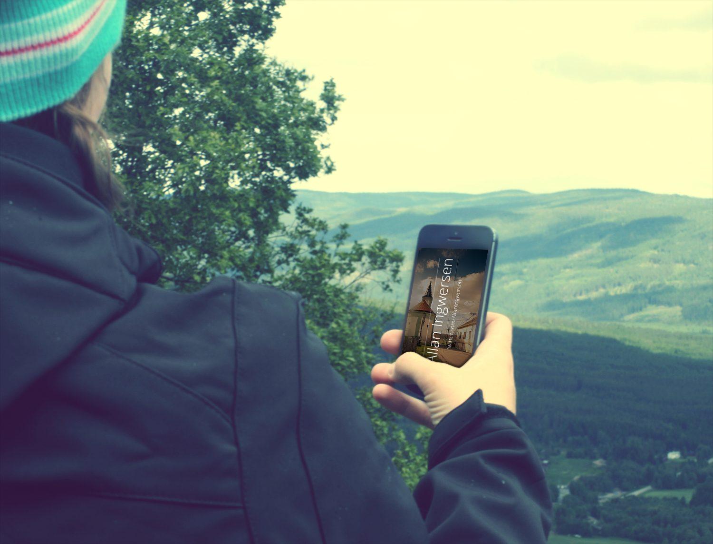 16 Free iPhone PSD Mockups Beautiful Memories