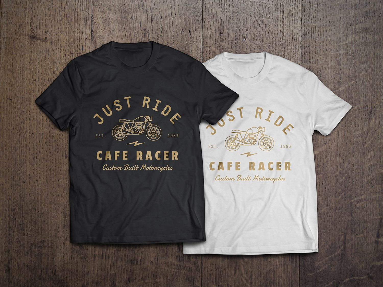 2 Photorealistic T-Shirt Mock-Ups