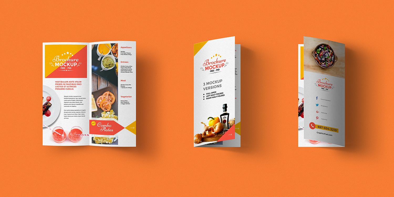 2 Page Brochure >> Bi Fold Brochure Mockup Psd Best Free Mockups