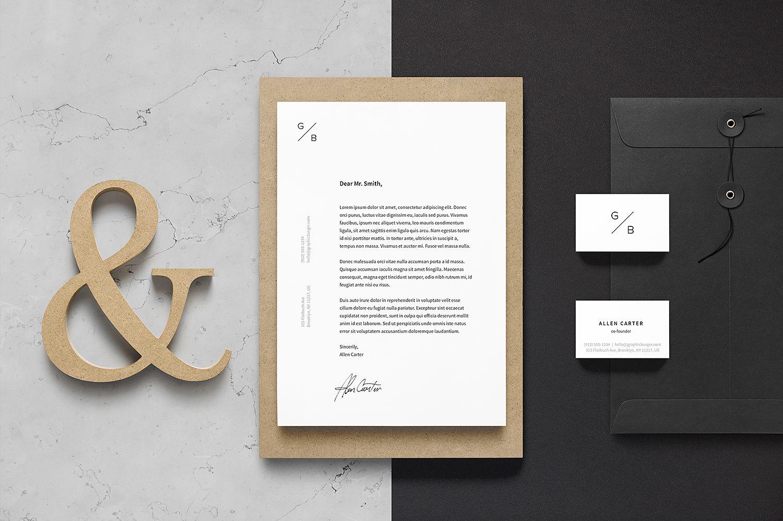Branding Identity Mockup Set Vol. 16
