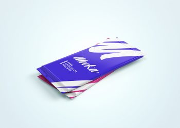 Chocolate Package Mockup PSD