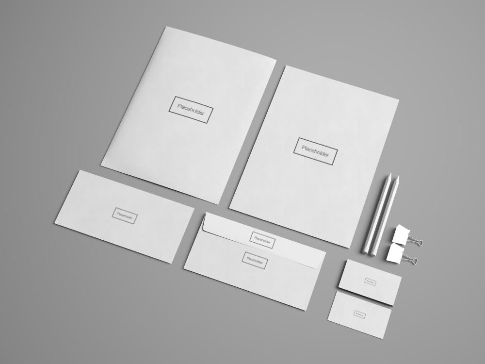 Free Advanced Branding Stationery Mockup