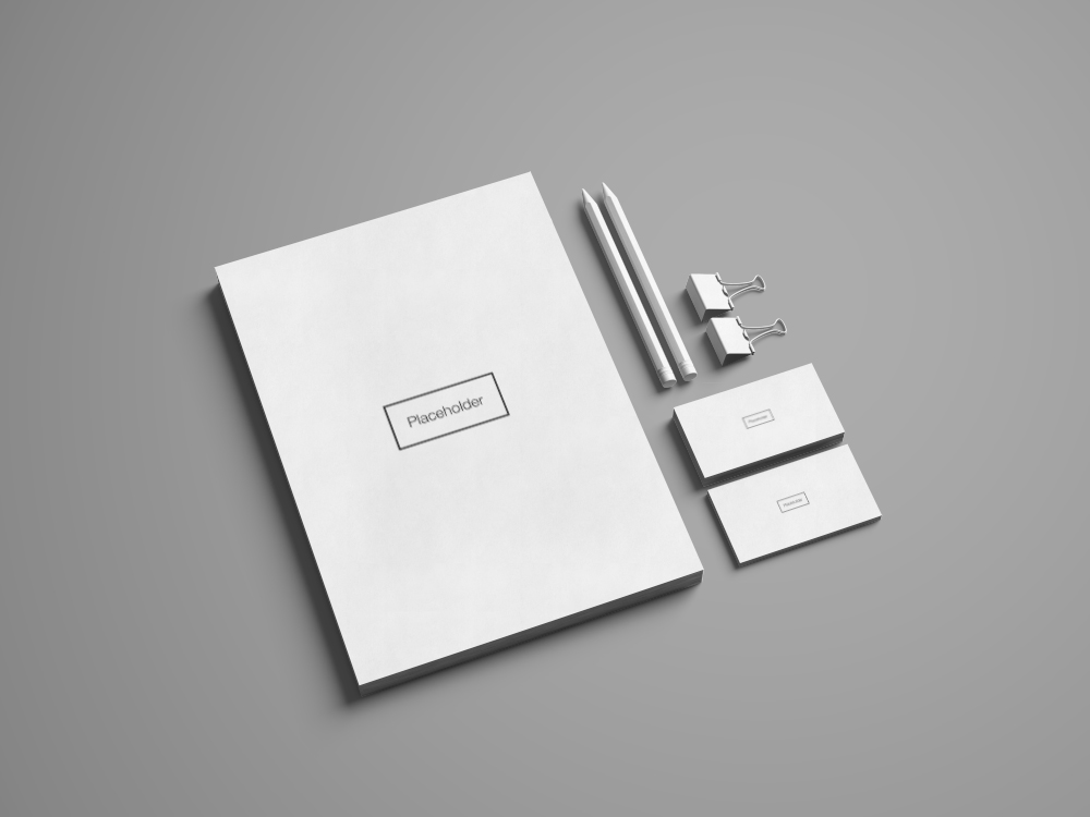 Free Advanced Branding Stationery Mockup