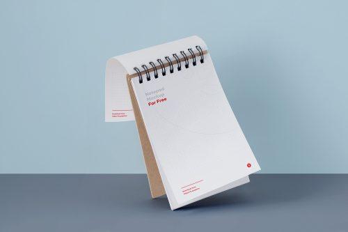 Notepad Mockup PSD