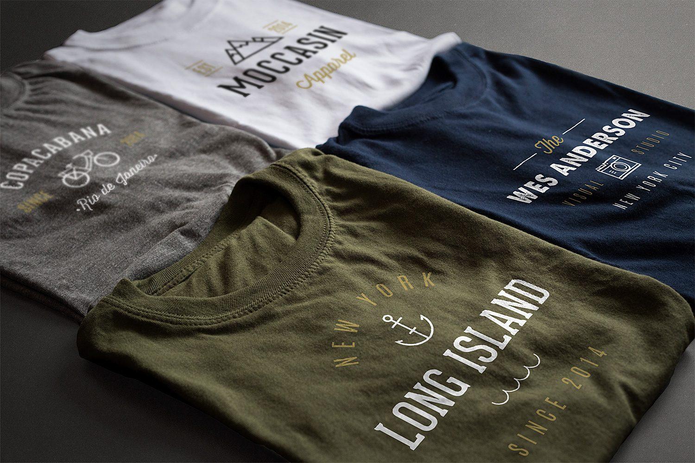 Photorealistic T-Shirt Mockups