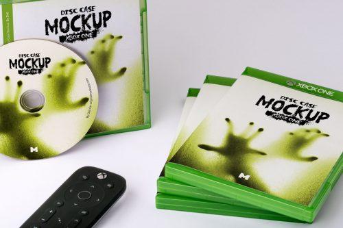 Xbox One Disc Case Mockup
