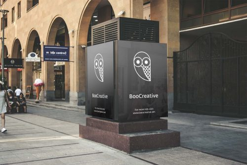 Boocreative Billboard Mockup PSD