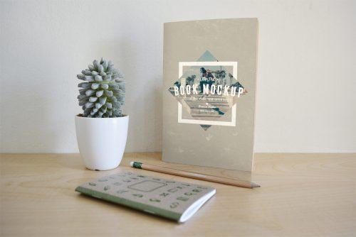 Book Cover PSD Mockup