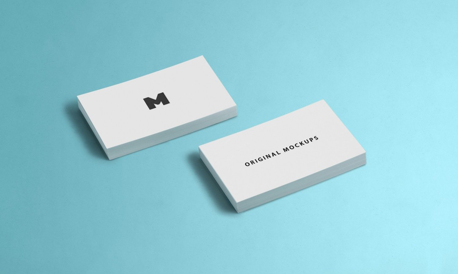 Business Card Free PSD Mockup