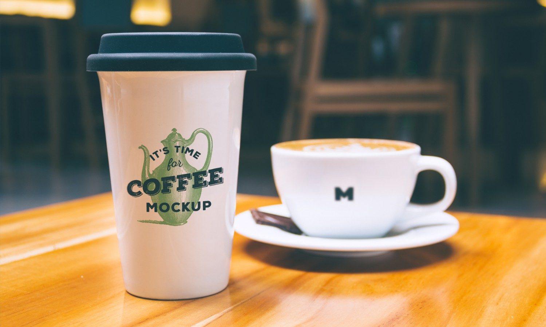 Coffee Mug Cup PSD Mockup