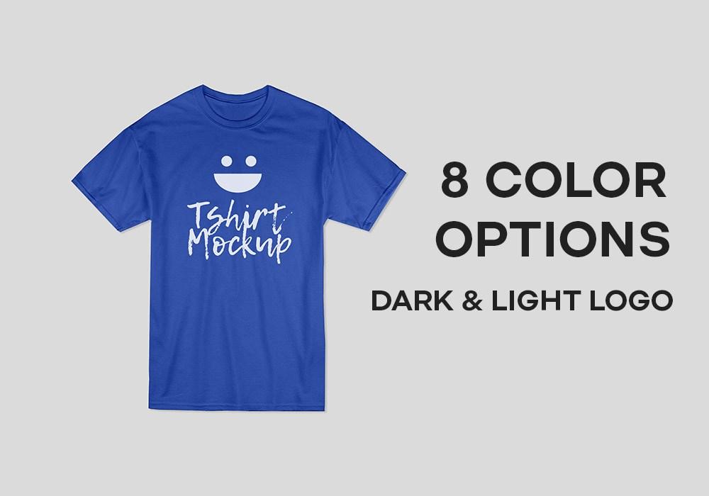 Cotton T-Shirt Mockup PSD
