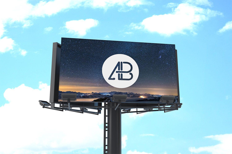 Free Billboard Mockup Vol.1