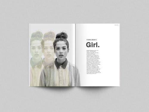 Free Magazine PSD Mock