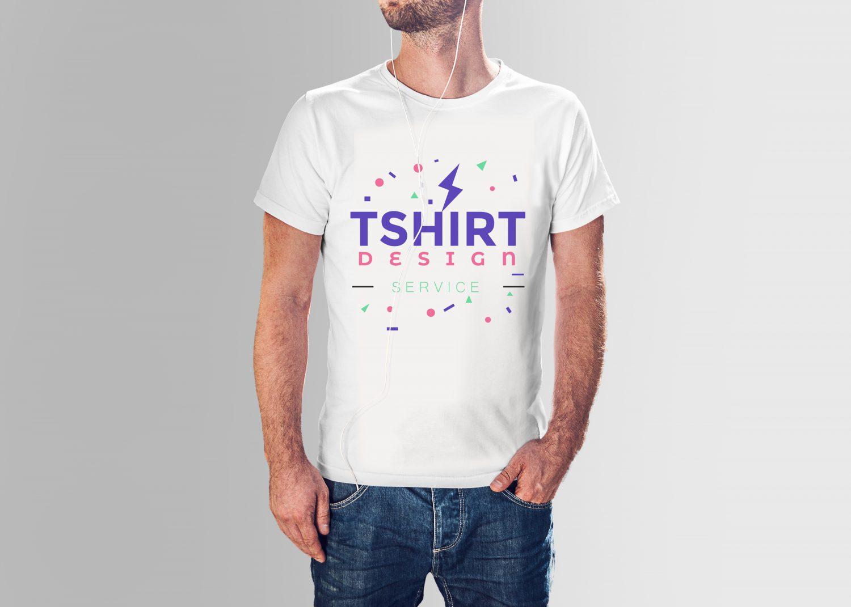 Free Male T-Shirt Mockup PSD