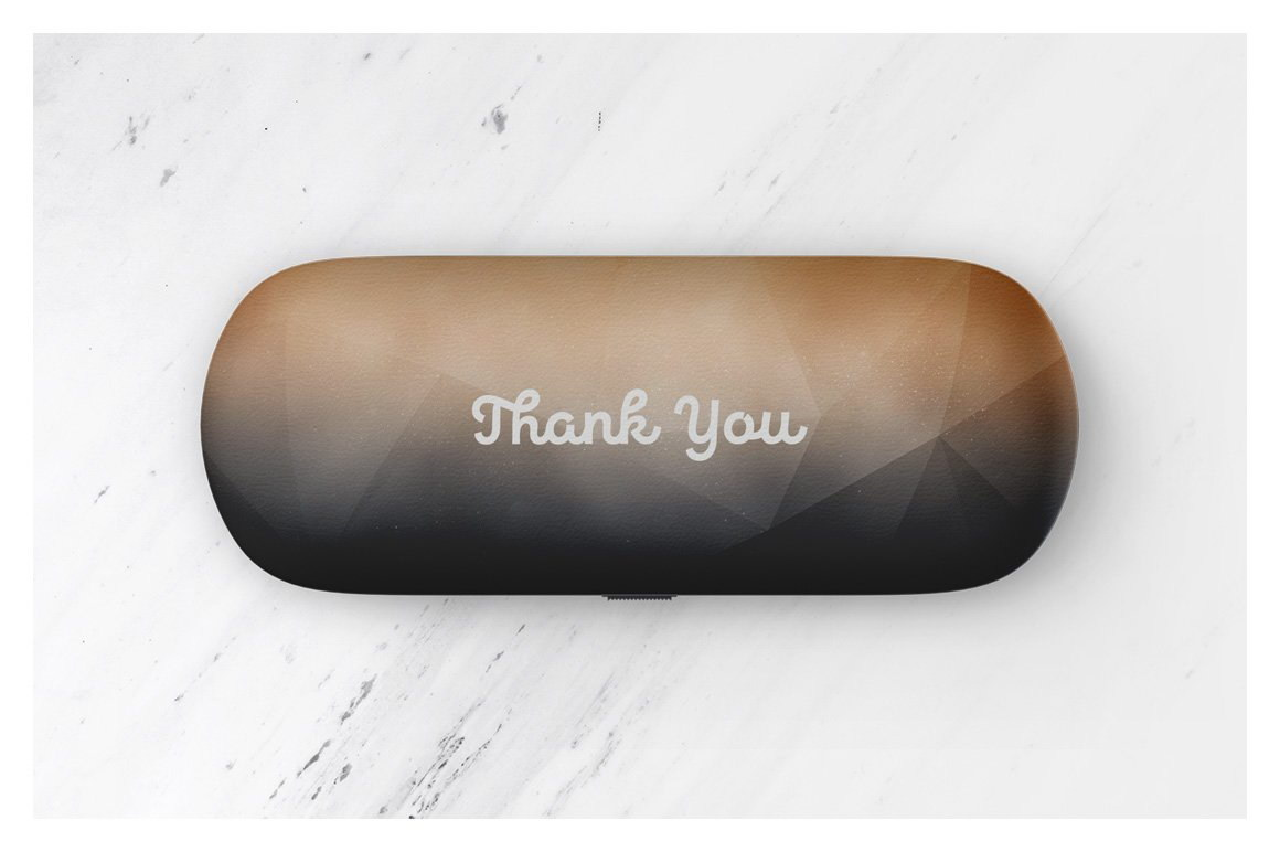Glasses Case Mockup Set