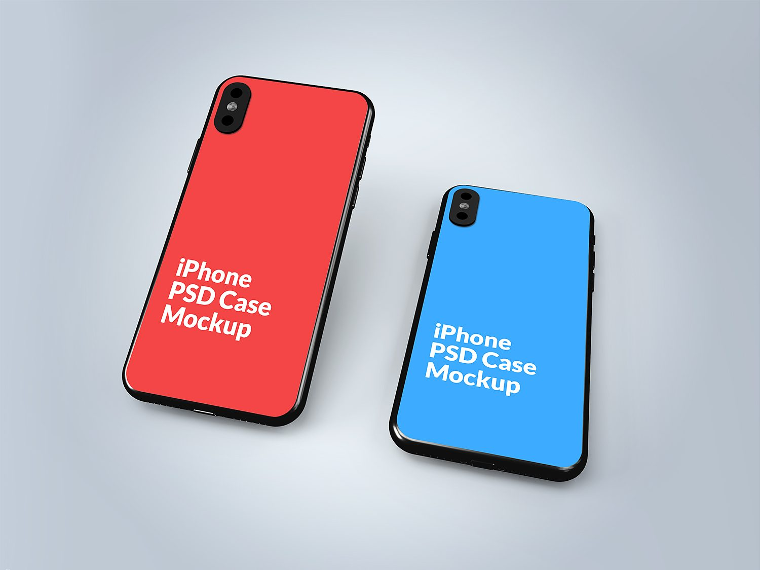 iPhone X Silicone Case Back Cover
