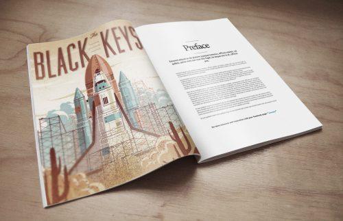 Magazine Free PSD Mockup