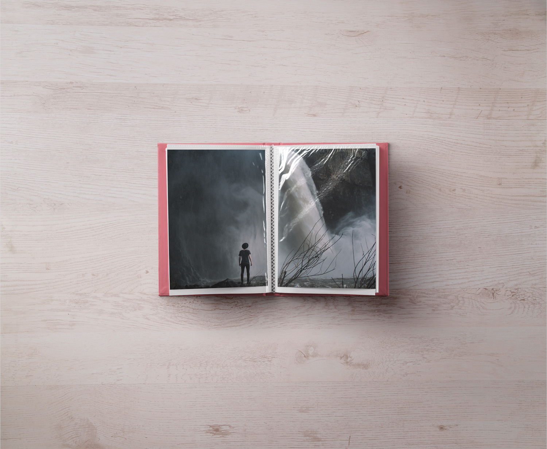 Photo Album Mockup Template
