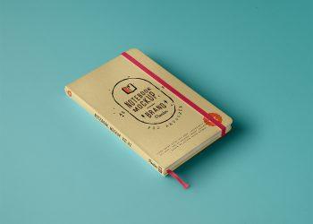 Classic PSD Notebook Mockup