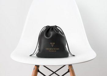 Leather Bag Mockup