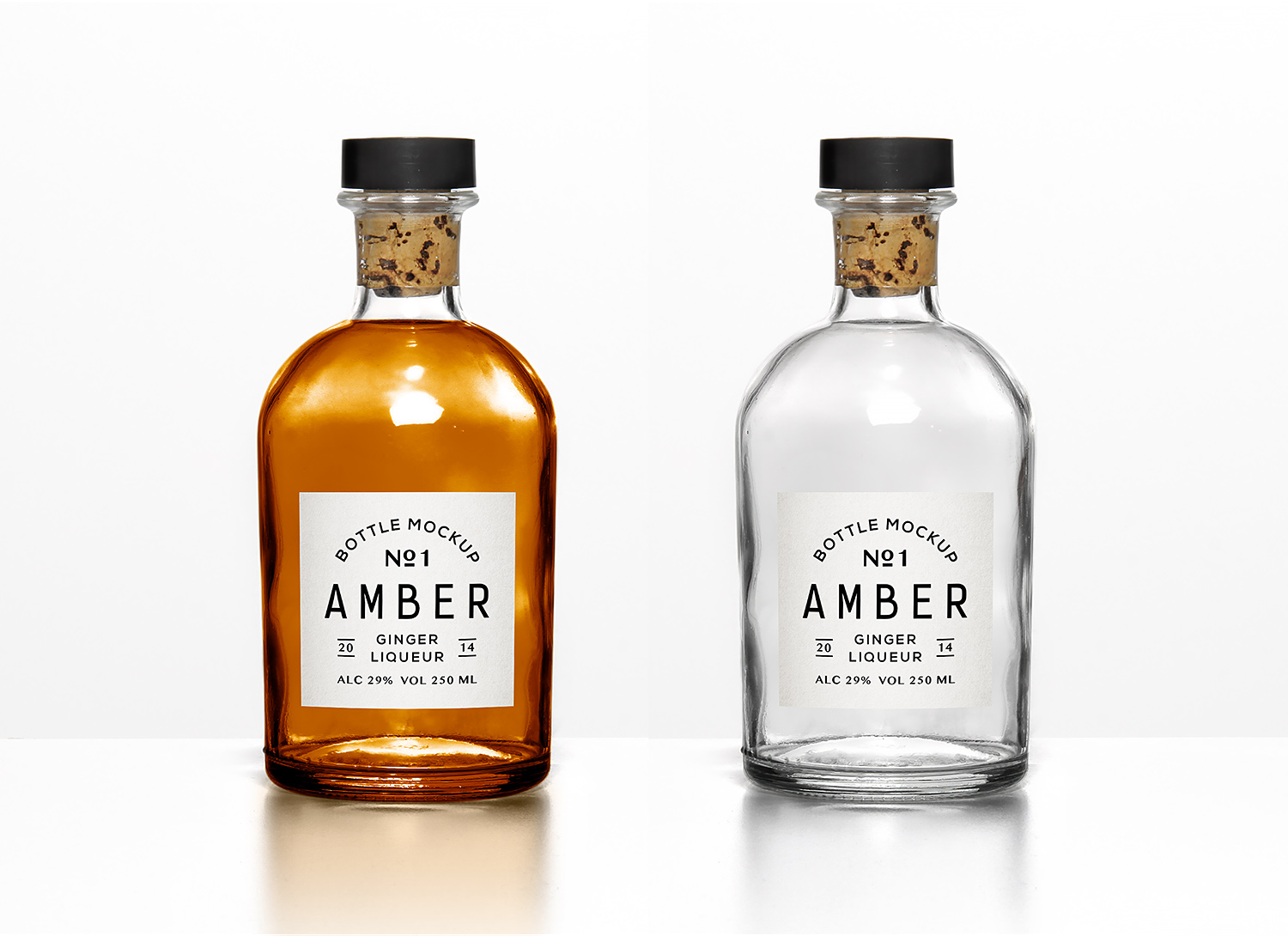 Versatile Bottle PSD Mockup
